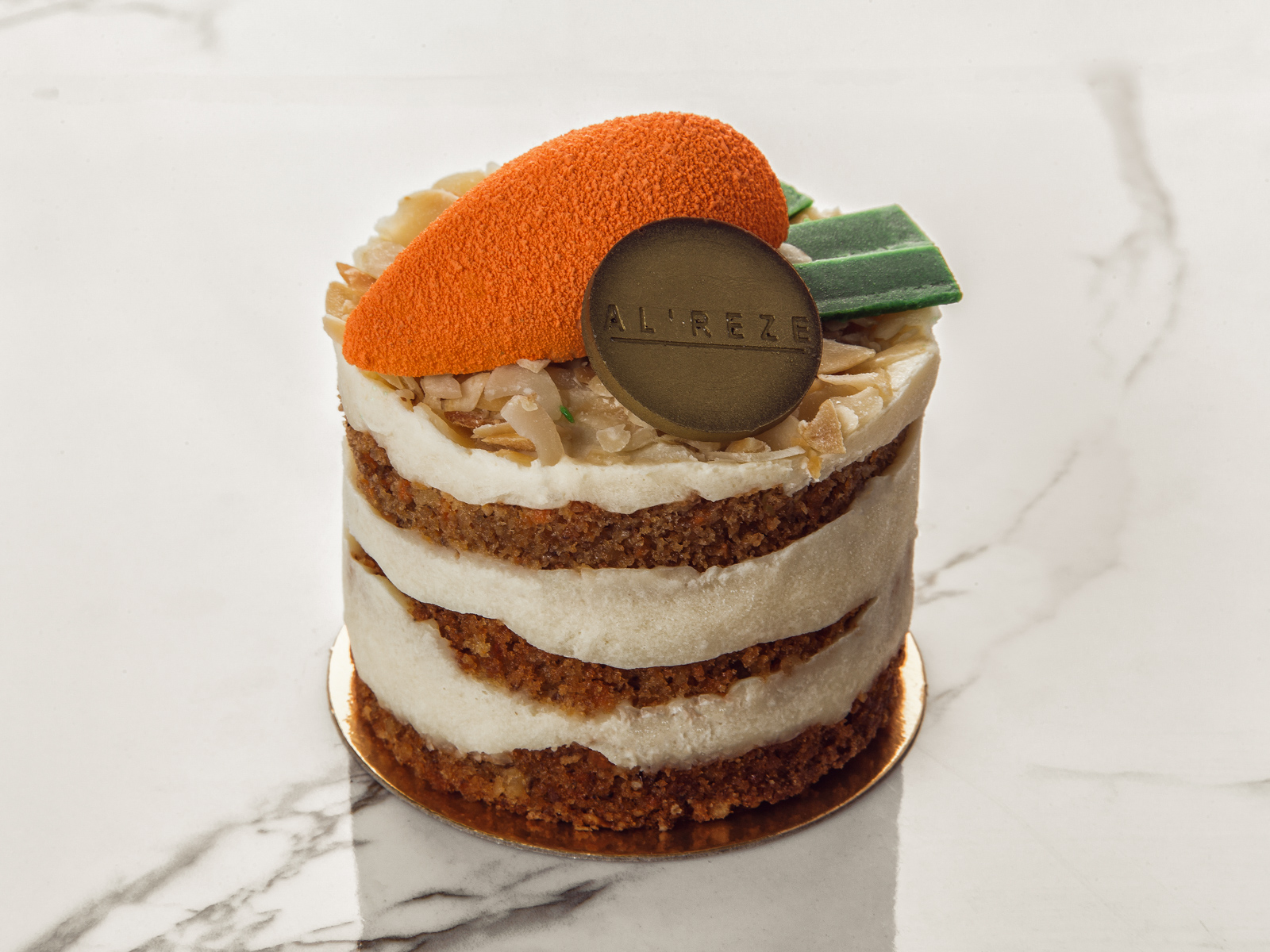 Пирожное Кейк морковный