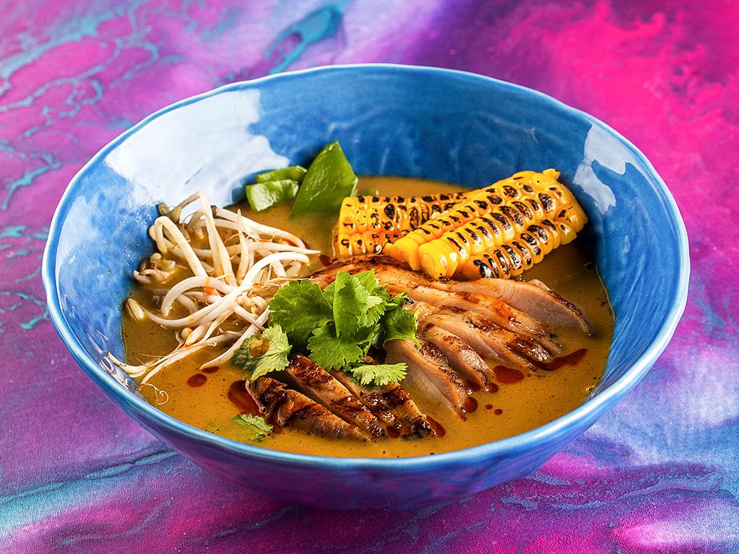 Суп Малазийская Лакса с курицей