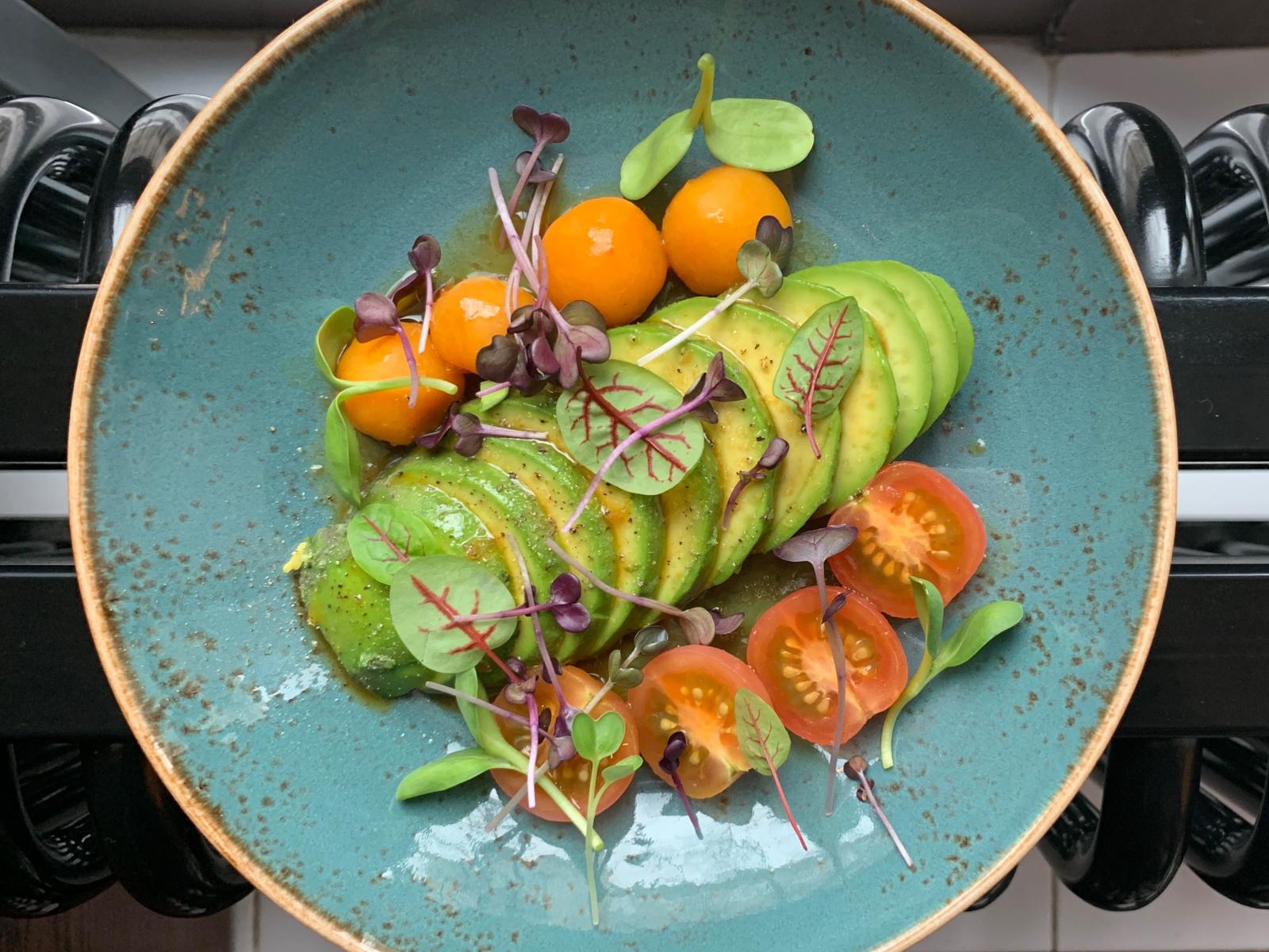 Авокадо свежий слайс