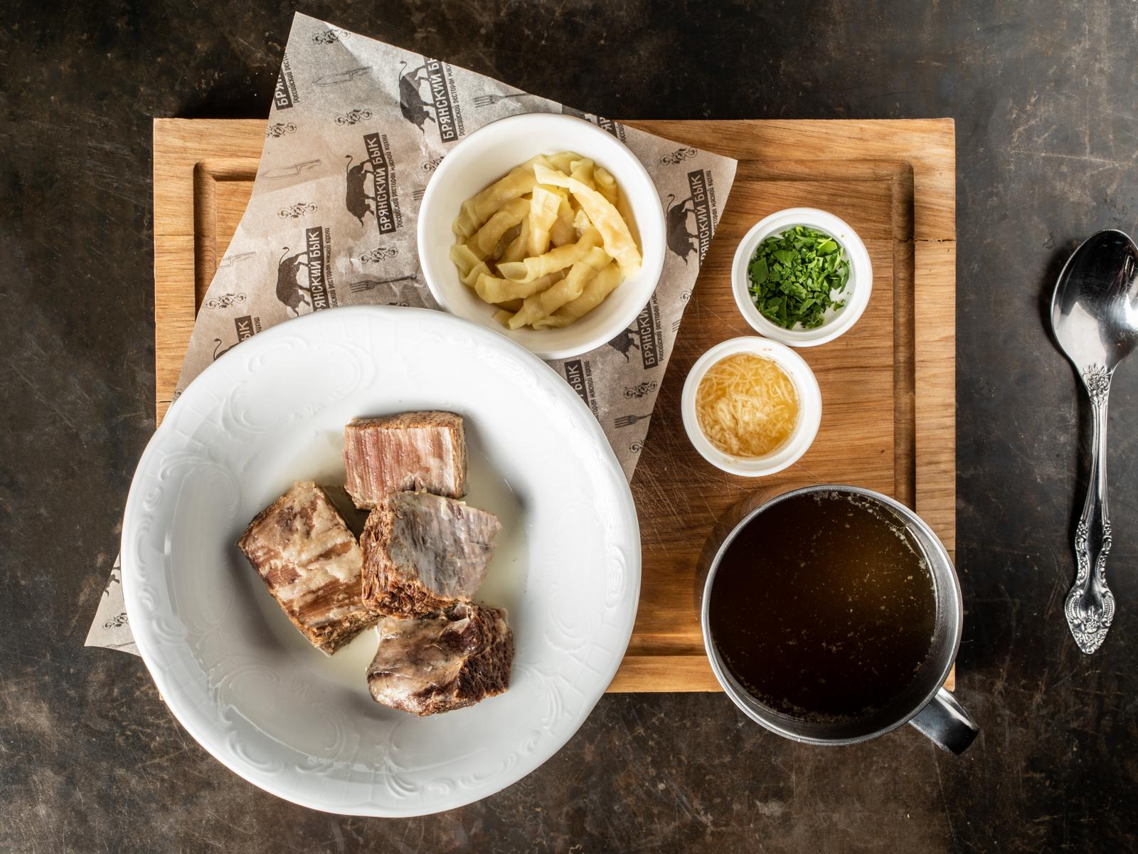 Наваристый похмельный суп с говядиной