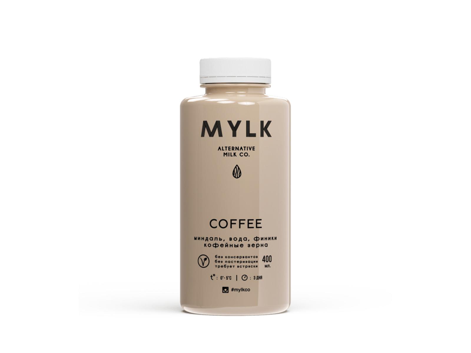 Миндальное молоко со вкусом кофе COFFE