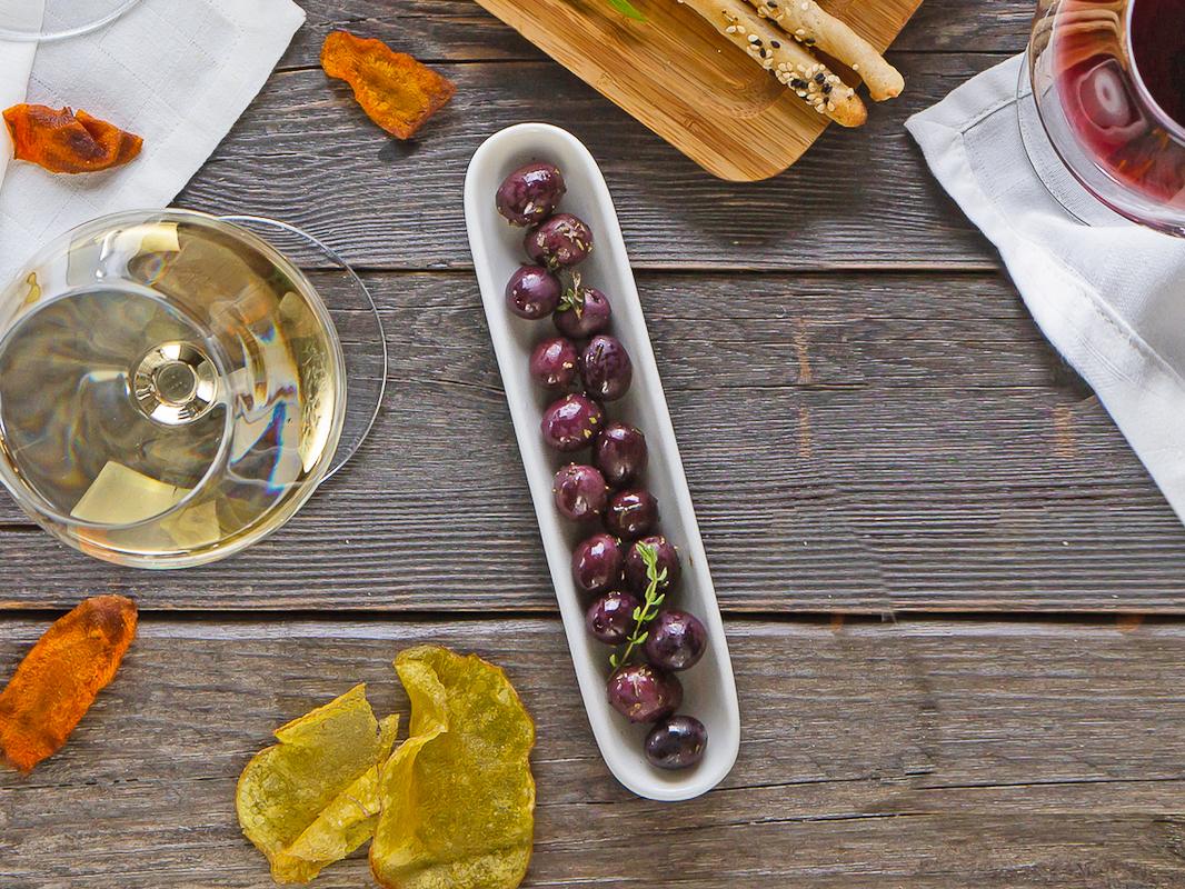 Греческие маринованные оливки