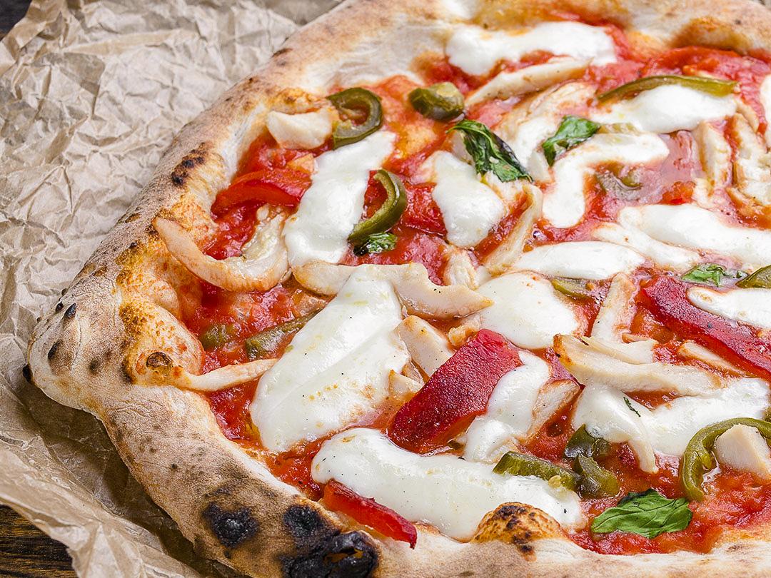 Пицца неаполитанская Халапеньо