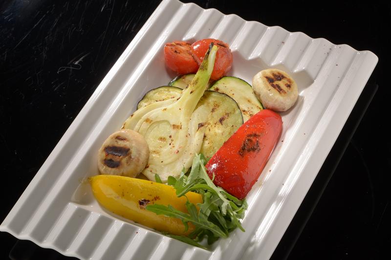 Овощи на гриле или на пару