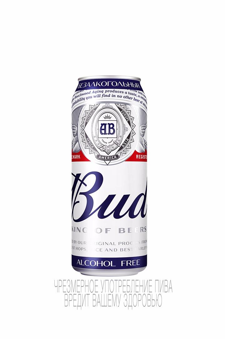 Пиво бад безалкогольное