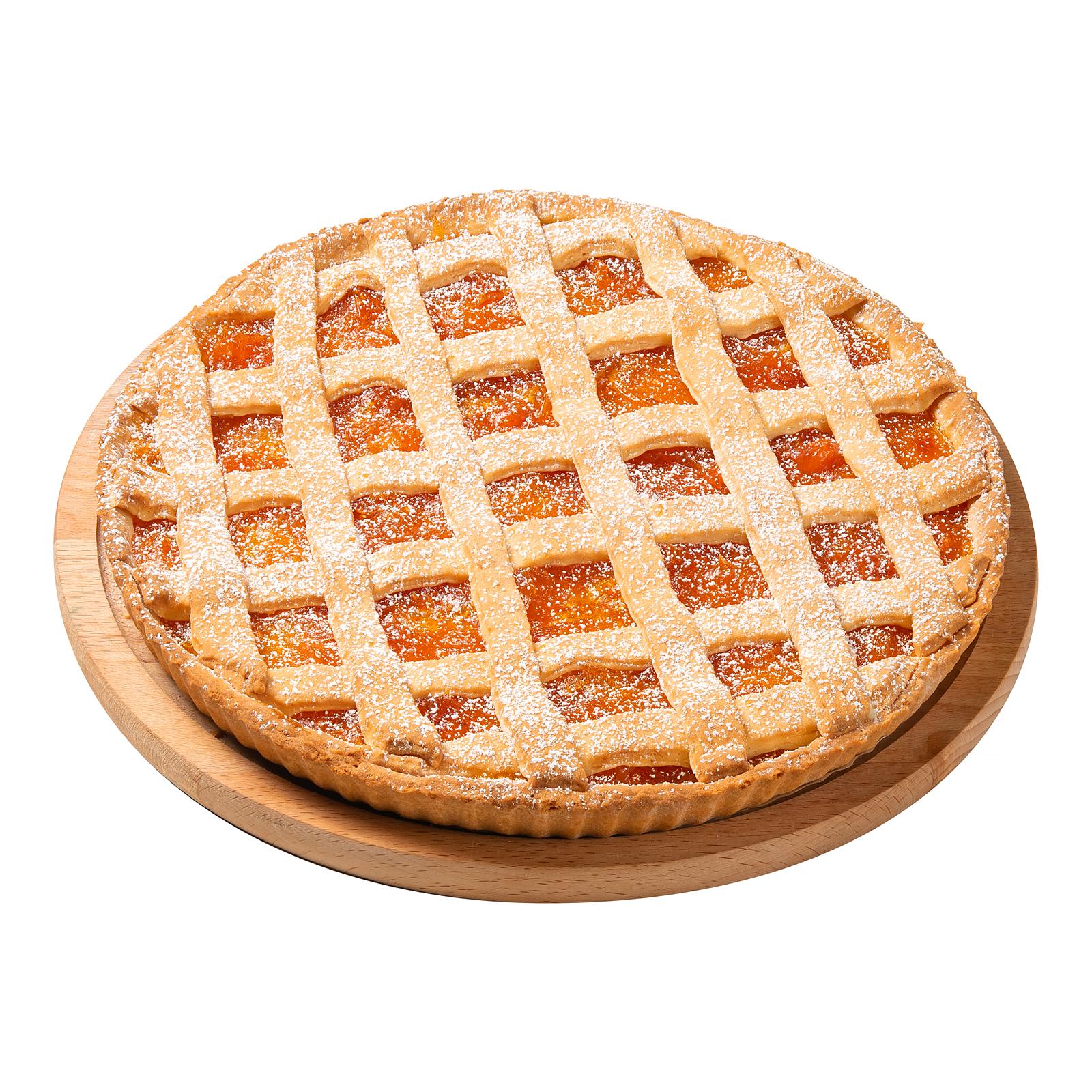 Абрикосовый зимний пирог