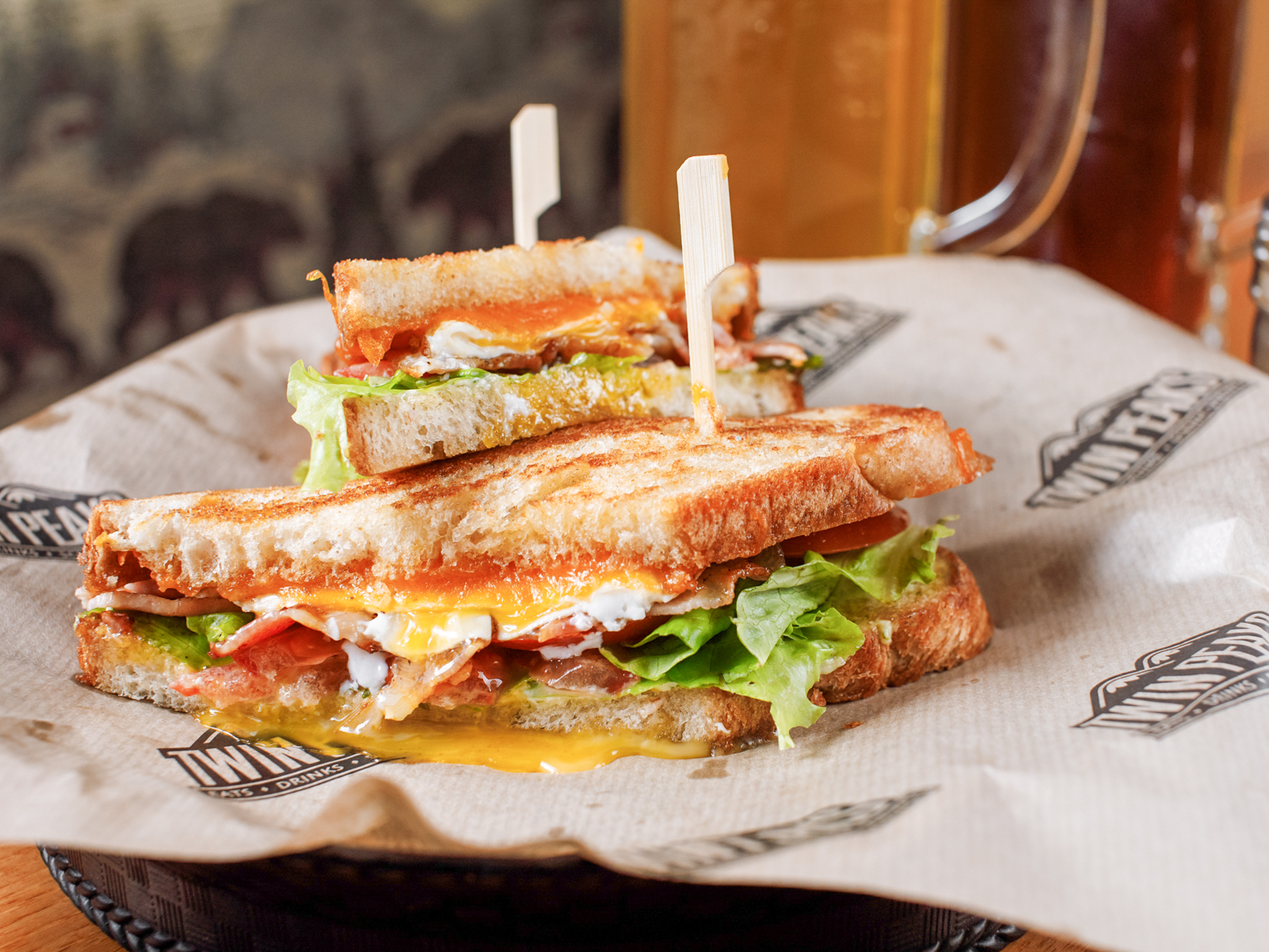 БЛТ сэндвич