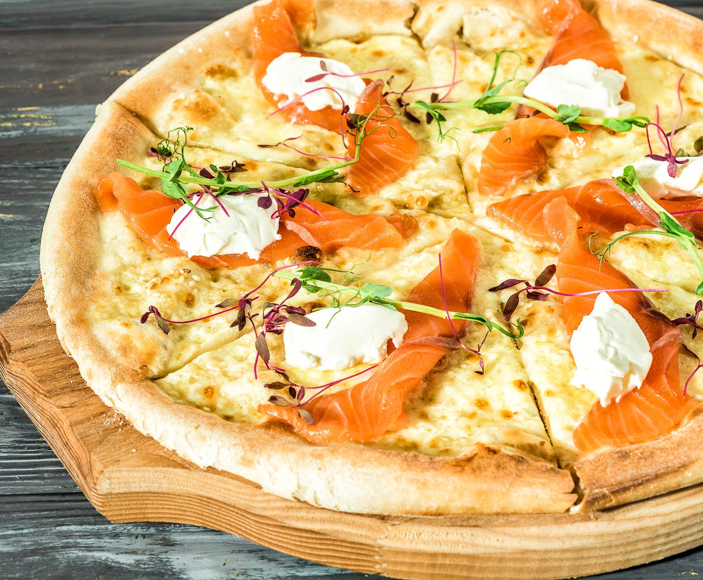Пицца Аль-Сальмоне