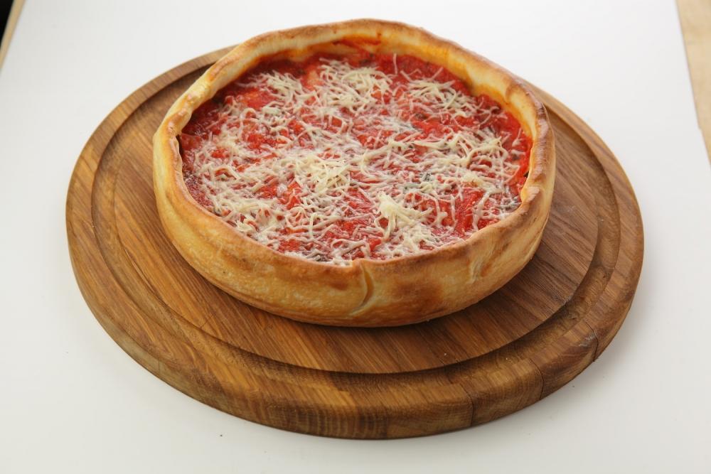 Чикагская пицца Сальсичио