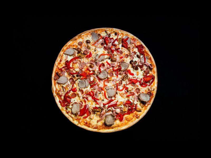 Пицца Бергамская