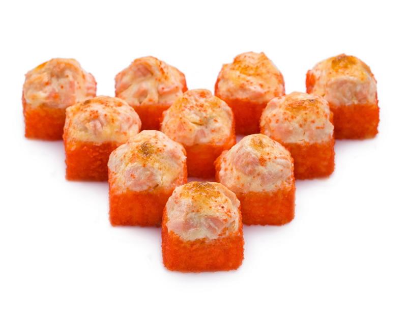 Ролл Запеченный сырный с лососем Гранд