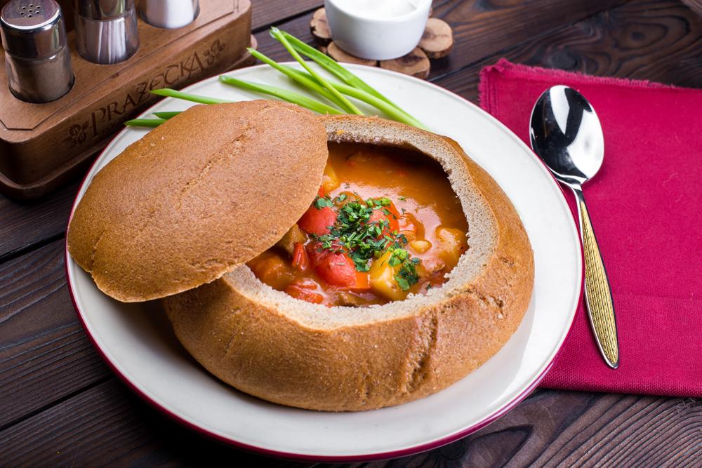 Суп Гуляш по-чешски
