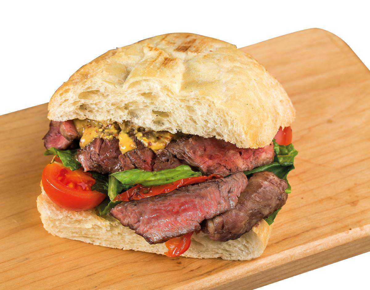 Итальянский сэндвич с ростбифом