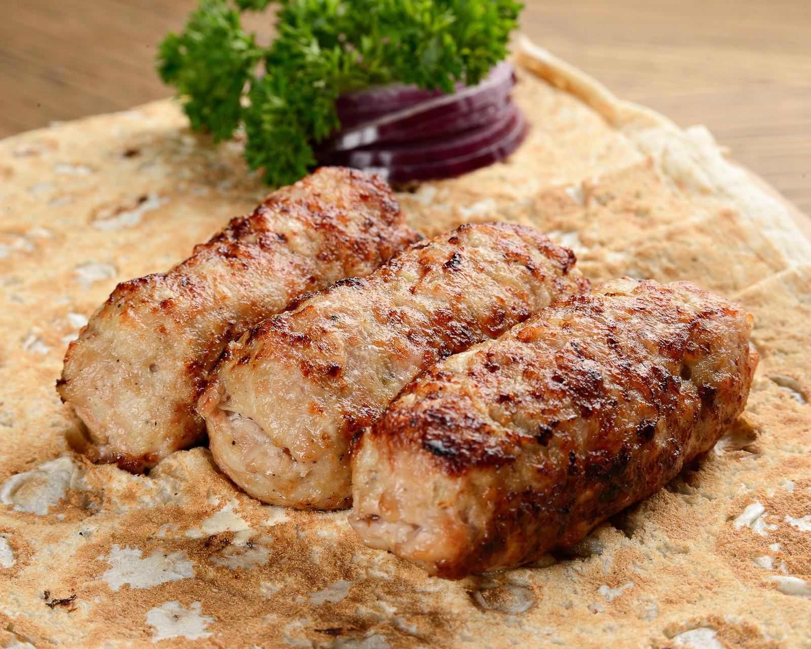Люля–кебаб из курицы