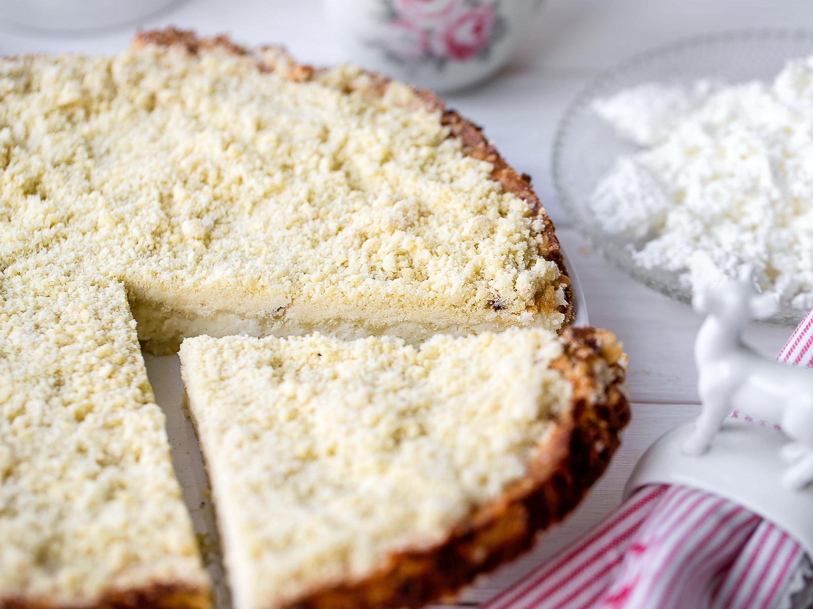Пирог сладкий Королевская ватрушка
