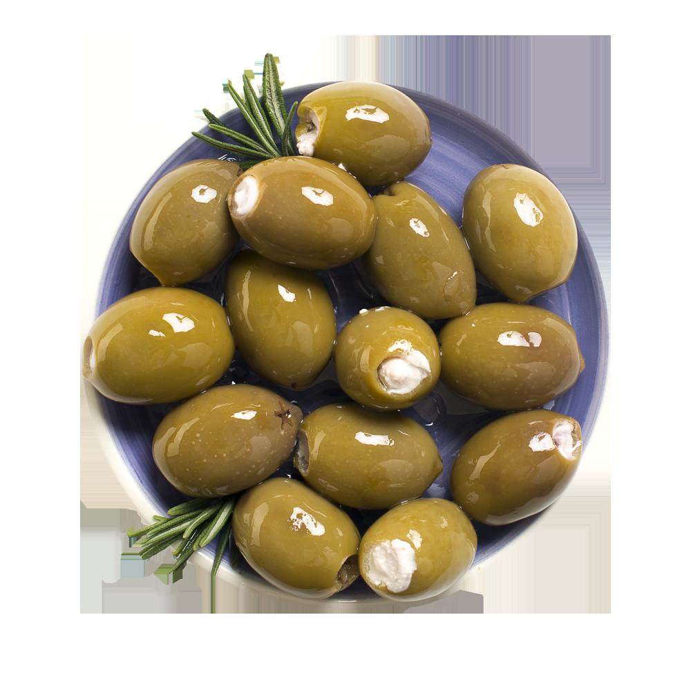 Оливки со сливочным сыром Meggle