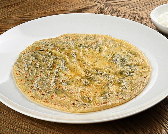 Хичин с сыром и зеленью