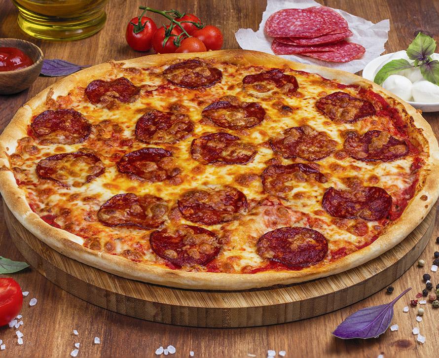 Пицца Острая Пепперони классическая