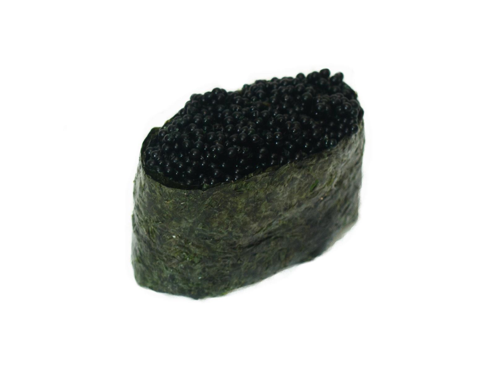 Суши с тобико черной