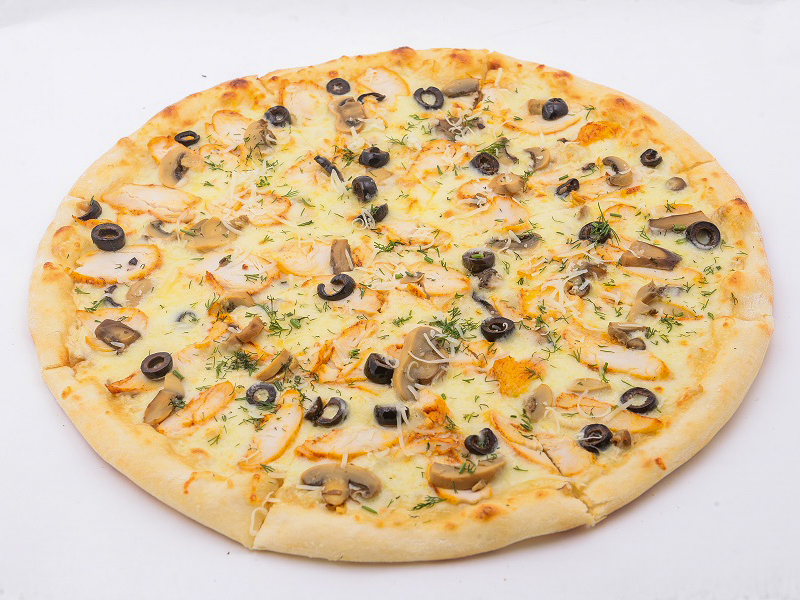 Пицца Курица с грибами