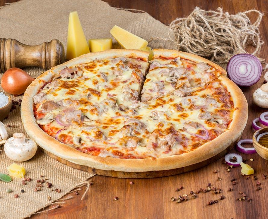 Пицца Деревенская фирменная