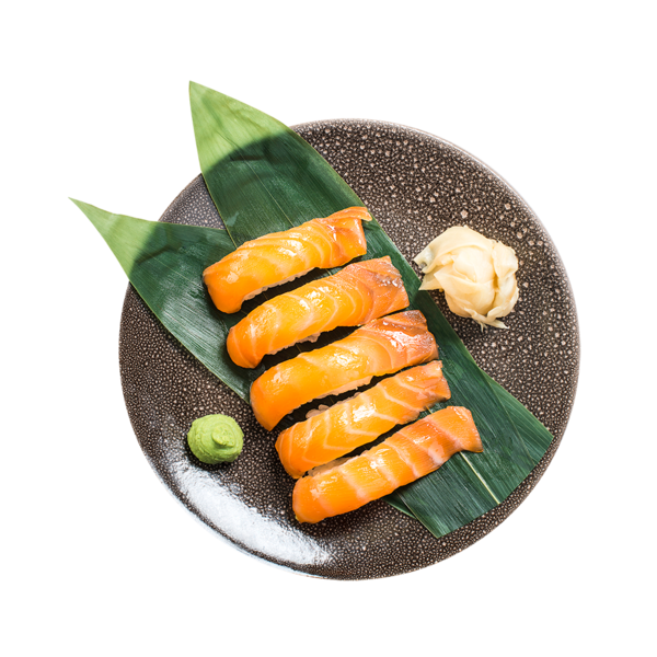 Суси с копченым лососем