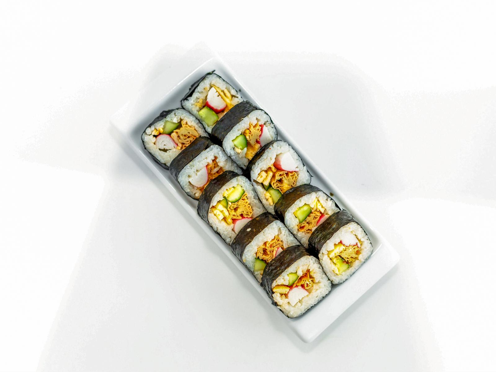 Кимпаб со спаржей