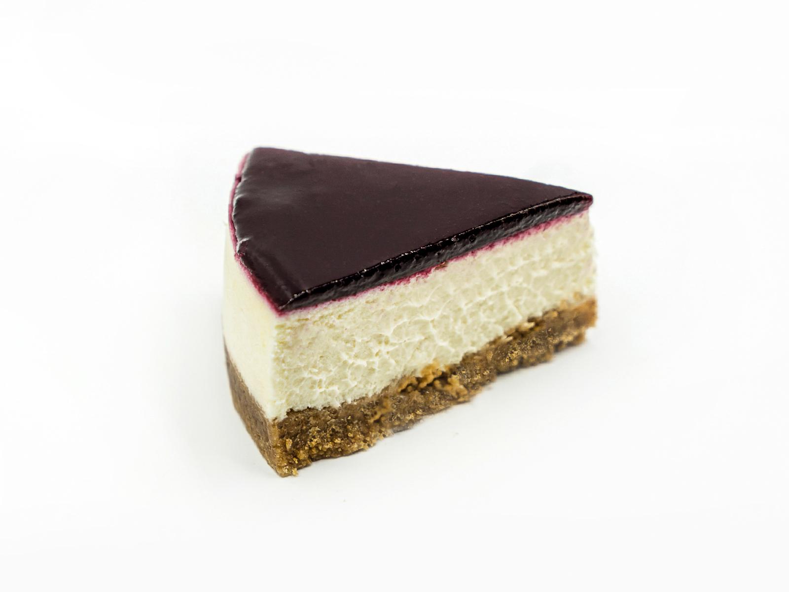 Торт Чиз-кейк Черная смородина порционный