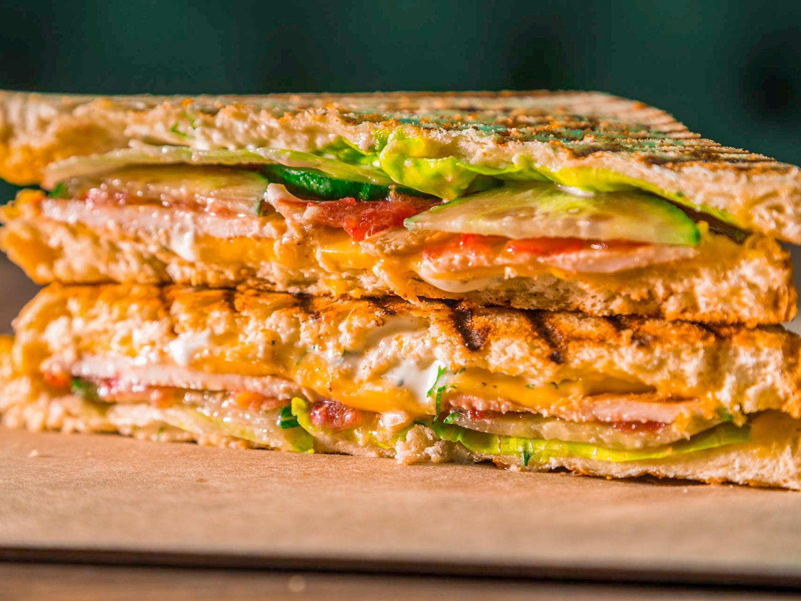 Сэндвич Клаб с курицей
