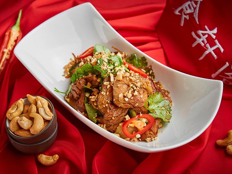 Сычуаньский Биф салат