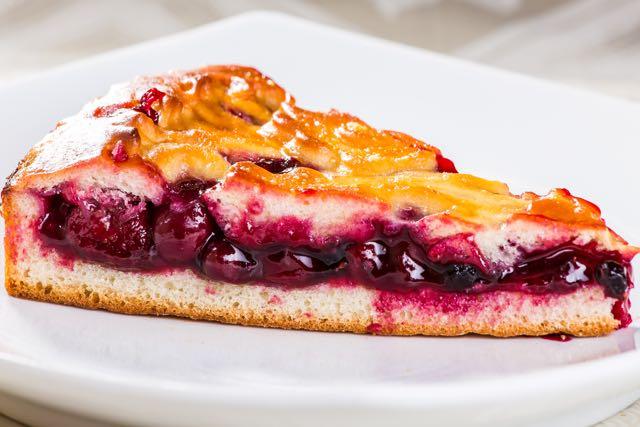 Пирог Четыре ягоды