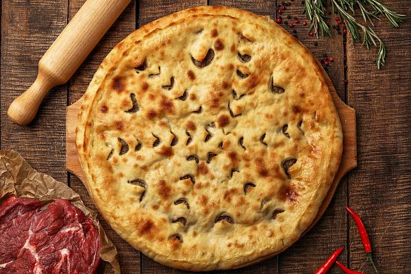 Осетинский пирог с рубленой говядиной Праздничный