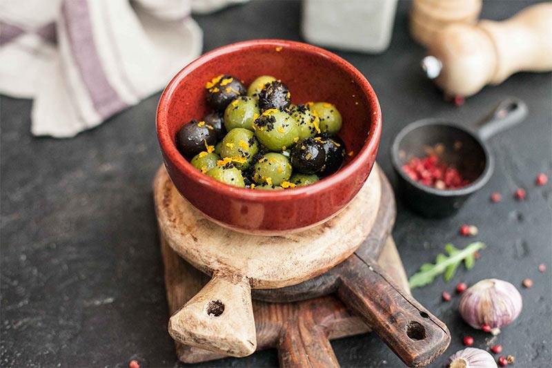 Микс маслин и оливок