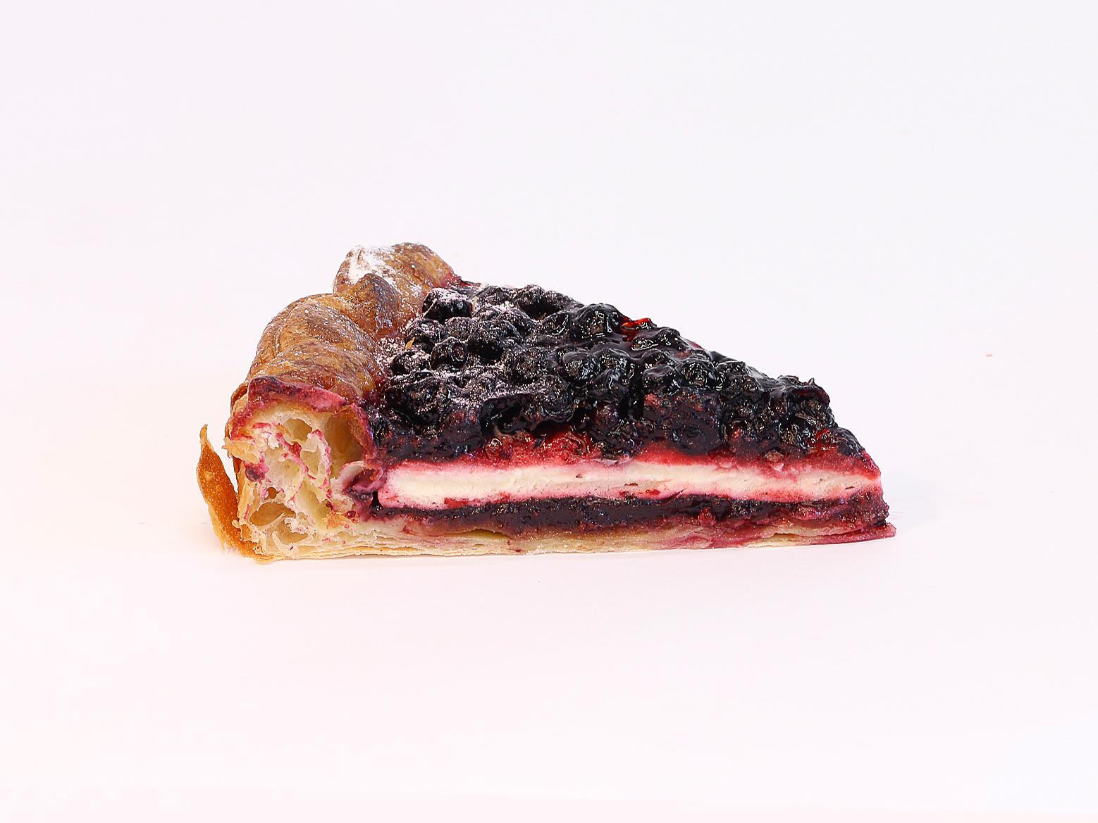 Тарт с черникой порционный