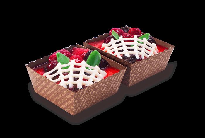 Пирожное Ягодное ассорти