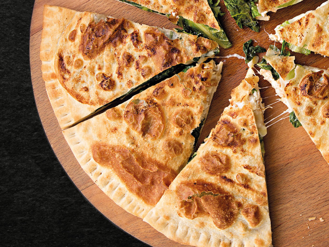 Пицца Цезарь закрытая