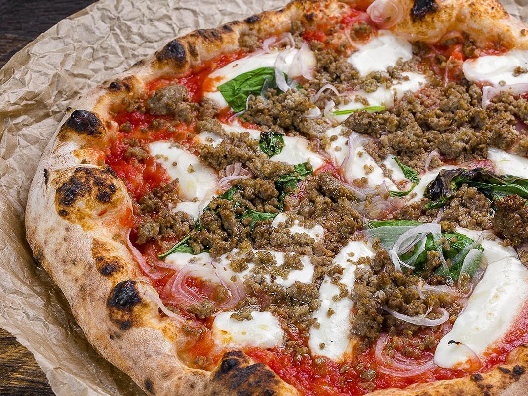 Пицца неаполитанская Кебаб