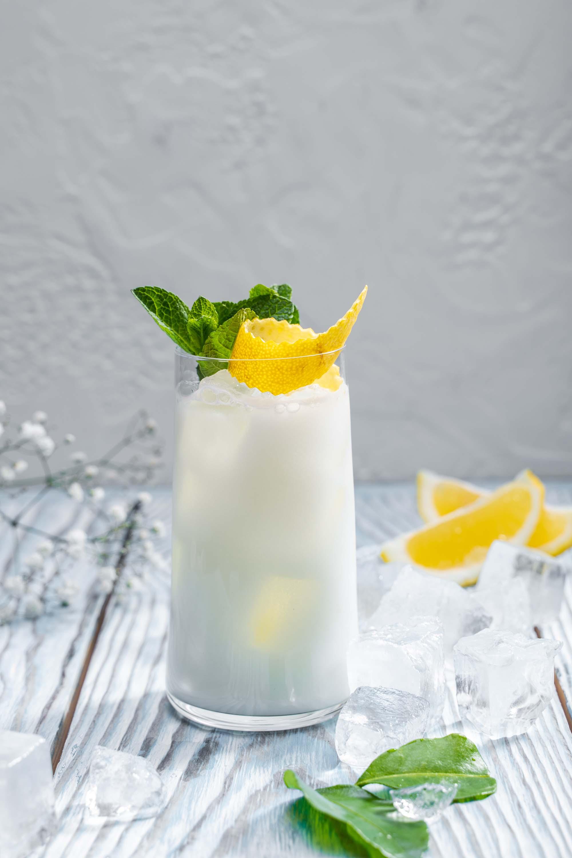 Лимонад белый юдзу