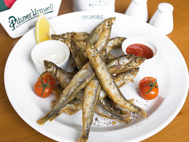 Смажени рыби