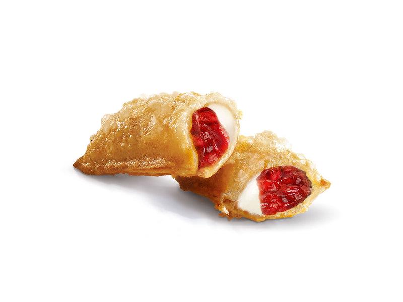 Пирожок Клубника и сливочный сыр