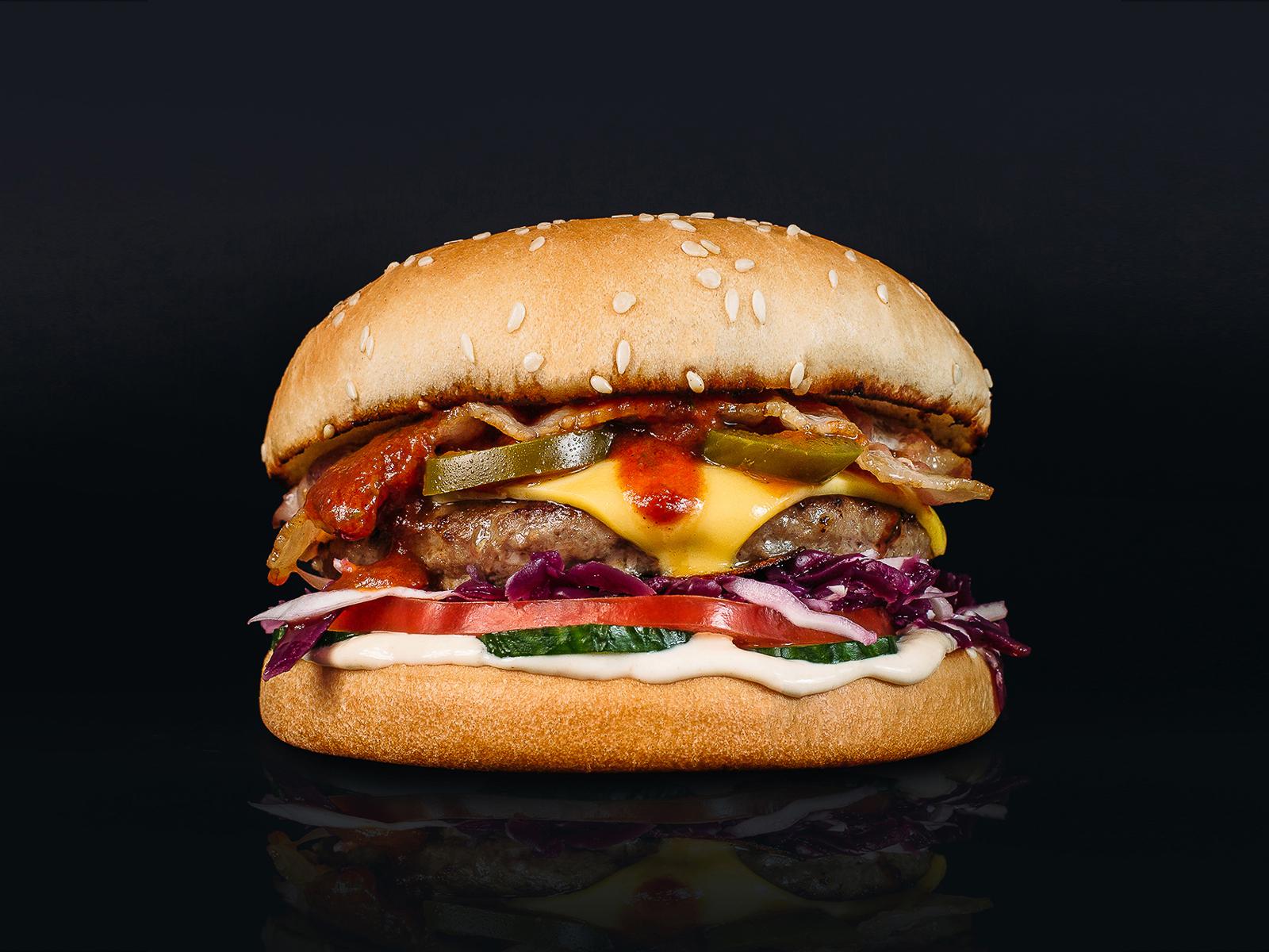 Бургер Американ Хот