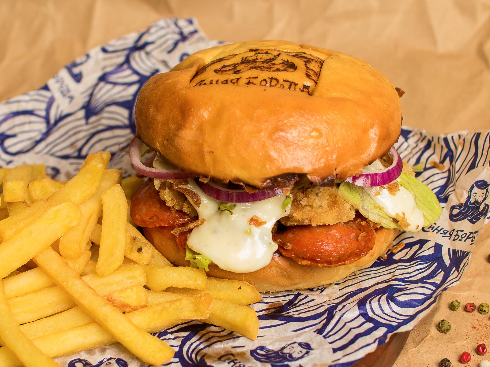 Бургер Счастливая курица