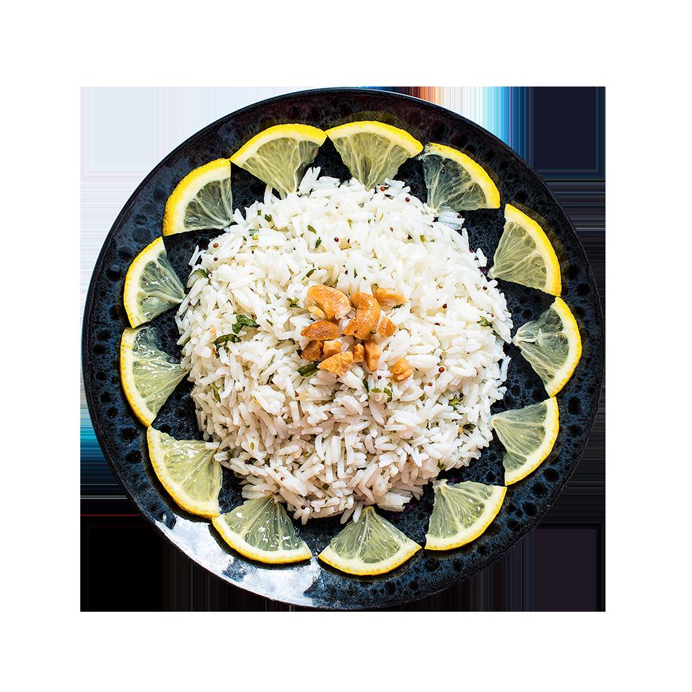 Рис лимонный по-индийски
