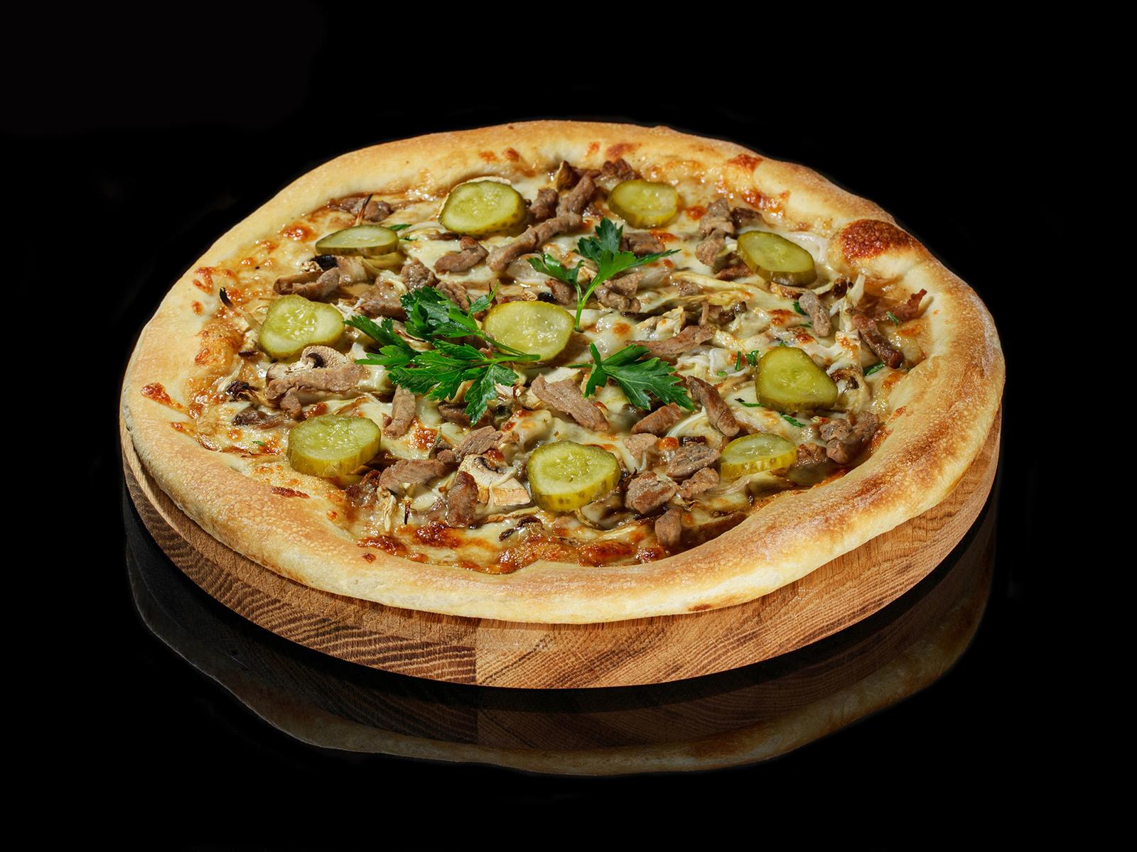 Пицца Бефстроганов