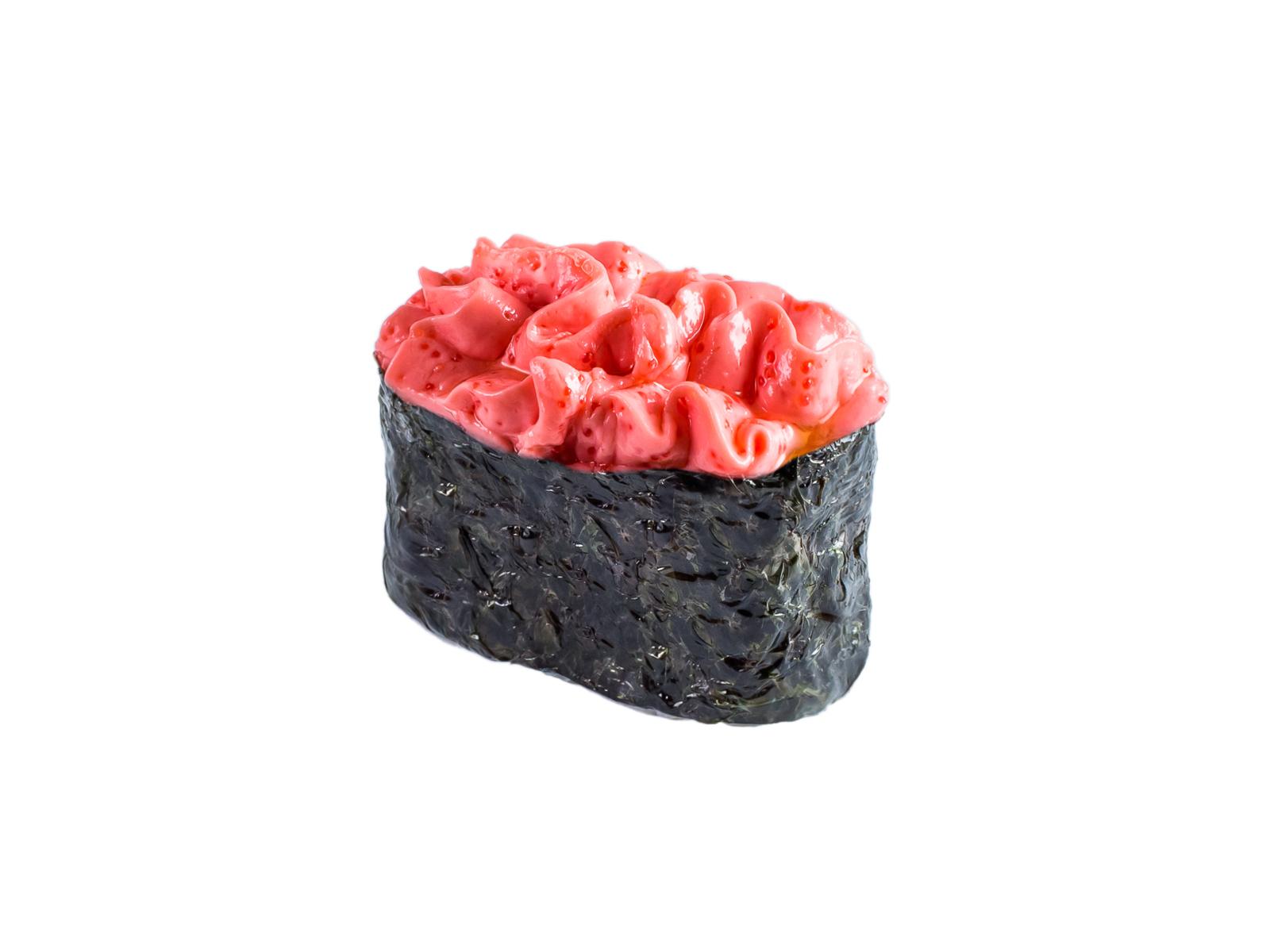 Суши Угорь под соусом хондаши