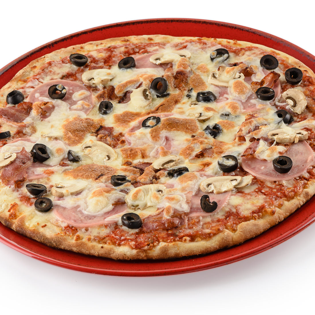Пицца с ветчиной грибами (30 см)
