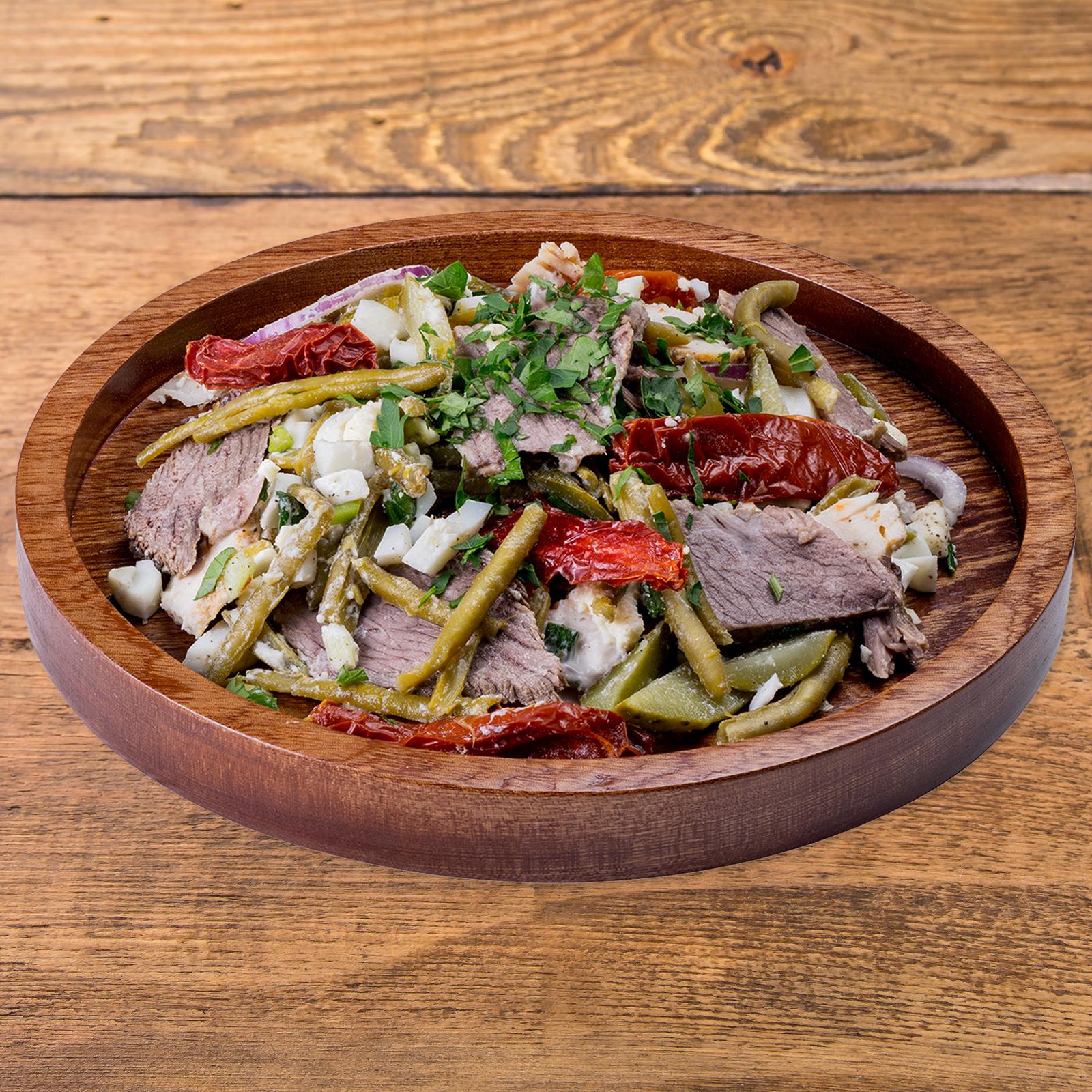 Французский мясной салат
