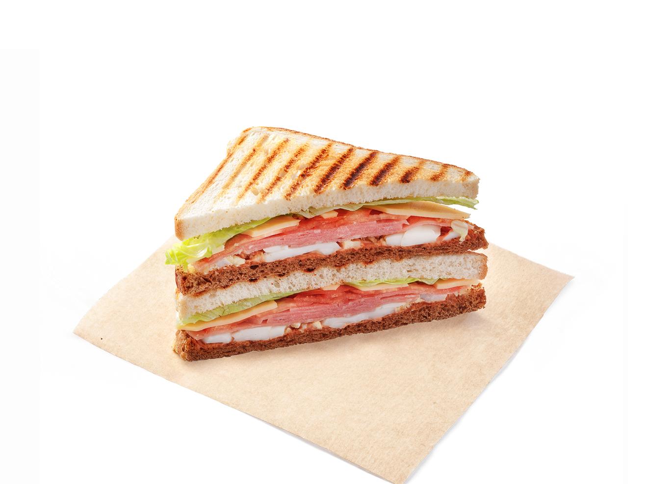 Сэндвич Блэк энд Уайт