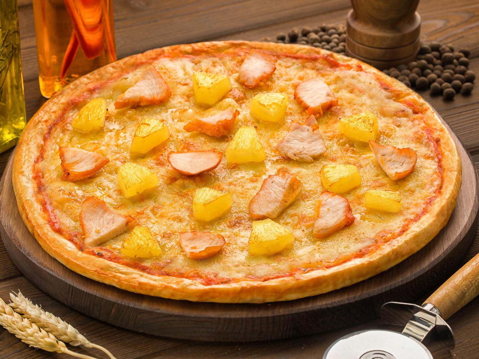 Пицца Карибская