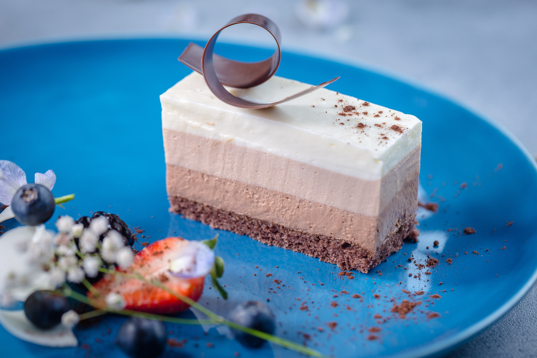 Десерт Три шоколада